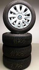 4x Orig. BMW 3er F30 F31 Stahlfelgen Bridgestone Winterreifen 205/60 R16 92H