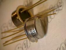 MP301  transistor  Mot  metal can  collectible vintage with golden leads