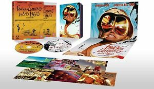Fear and Loathing in Las Vegas Limited Edition Blu Ray Arrow UK New/Sealed