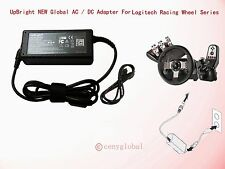 AC Adapter For Logitech Racing Wheel G27 G25 G940 Flight System Power Supply New