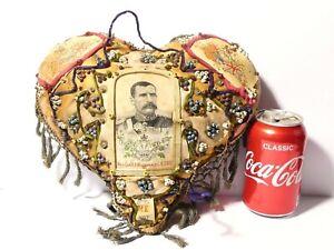 Boer War Sweetheart Pin Cushion Maj-Gen Hector Macdonald Gordon Highlanders