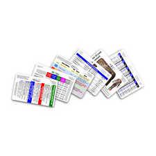 Mini CNA MA NA Horizontal Badge Card Set - 6 Cards - Nursing Nurse PCA PCT Tech