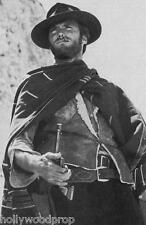 CLINT EASTWOOD THE GOOD BAD AND UGLY FOR A FEW DOLLARS MORE PONCHO PHOTO POSTER