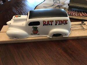 1/24 Austin Rat Fink Pro Mod Drag  Car Parma Edge Chassis  16 D Great
