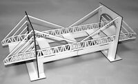 1:32 Scale Suspension Bridge with Underpass Kit - for Scalextric/Static Layouts