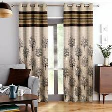 Blackout Jacquard Door Curtains Contemporary Pattern for Living Room Décor