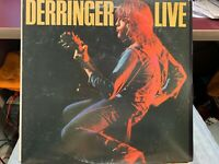 Derringer Live LP 1977 BLUESKY PZ 34848 INNER STERLING PRESS