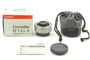 【 TOP MINT in BOX 】 Canon Extender EF 1.4X II Teleconverter Lens From JAPAN #727