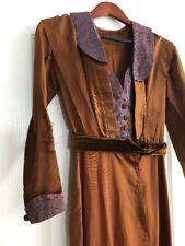 Antique Edwardian 1910's Downton Abbey Era Dress Vintage S/M