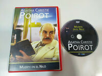 Agatha Christie Poirot Muerte en el nilo - DVD Español English Region 2