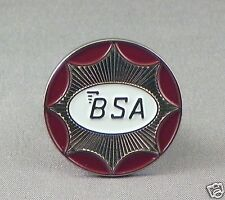 BSA motorcycle enamel pin / lapel badge Classic bike rocket bantam gold star