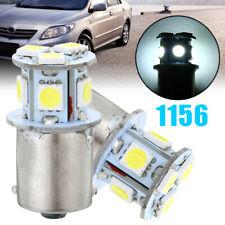 2pcs BA15S R5W 1156 5050 8SMD LED Car Tail Turn Signal Light Bulb Lamp White
