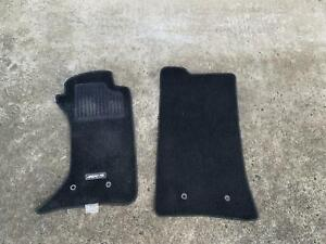 2009 2010 2011 2012 MAZDA MX5 NC PAIR FRONT FLOOR MATS WITH CLIPS
