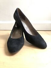 Rangoni of Florence Shoes Size 8B Womens Black Suede