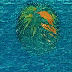 """ Digital [Pineapple] Ocean "" NFT - 1st Mint Generative Abstract Art  #1/100 ETH"