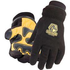 Black Stallion Polar Fleece Water Resistant Winter Work Gloves Large