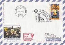BPÖ_137 Österreich: 102. Ballonpost Bad Waltersdorf => Blumau 27.08.1999