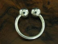 925 Sterling Silver Piercing / Septum/Nose Ring / Real Silver/0.2oz
