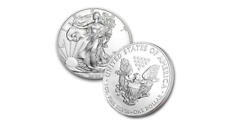 Lot of 5 - 2020 American Eagle Coins 1 oz  Statue of Liberty Eagle