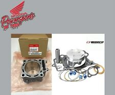 NEW OEM 04-05 HONDA TRX450R CYLINDER & WISECO HIGH PER PISTON KIT W GASKETS