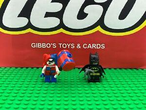 LEGO HARLEY QUINN & BATMAN mighty micro minifigures DC COMICS set 76092 figures
