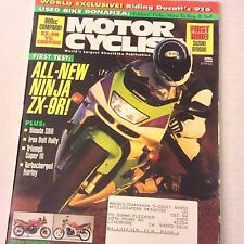 Motor Cyclist Magazine New Ninja Bimota SB6 Iron Butt April 1994 061617nonrh