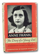 1952 Anne Frank Diary Young Girl Holocaust Memoir German Jew Eleanor Roosevelt