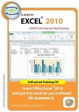 Learn Excel 2010, Windows 7 and Vista All-in-one CD Training Program