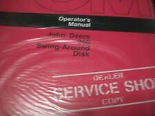 John Deere Tractor Operator'S Manual 360 Swing-Around Disk Issue H3