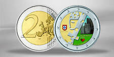 2 Euro Gedenkmünze 2012 Portugal Guimaraes FARBE