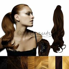 Clip in Ponytail Hair Extension Piece - Reversible Claw Clip