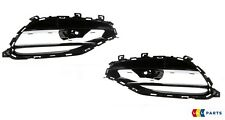 NEW GENUINE MERCEDES BENZ MB CLA45 2015- W117 AMG FRONT BUMPER GRILL SET L+R