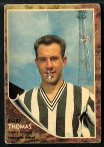 A&BC Gum, FOOTBALLERS, Make A Photo, 1963, Barry Thomas, Newcastle United, #49