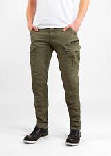John Doe Cargo Stroker XTM Jeans Olive Länge: 32 Motorrad Jeans 33/32 NEU++