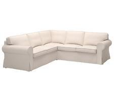 NEW Sealed IKEA Ektorp Lofallet Beige 2+2 Corner Sofa Slipcover Only Cover L@@K!