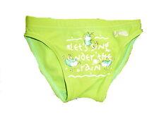 El Swim tolle Badehose Gr. 74 grün mit Froschmotiven !!