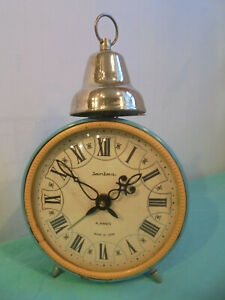 Alarm Clock Antique Made IN USSR 4JEWELS 30GER Years