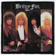 BRITNY FOX PATCH / SPEED-THRASH-BLACK-DEATH METAL