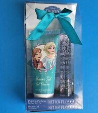 Disney Frozen Gift Set for Kids Roll On Perfume Shower Gel Elsa Anna New Bow