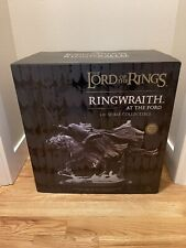 Weta Workshop Lord of the Rings Ringwraith at the Ford 1/6th scale statue