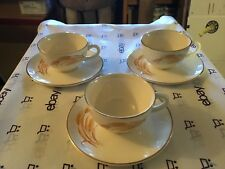 Vintage wheat cup and saucer set