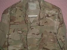 ARMY FIRE RETARDENT INSECT RESISTANT MULTI CAM CAMO UNIFORM JACKET MEDIUM REG.