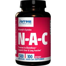 N-ACÉTYL-L-CYSTÉINE,( N-A-C ), 500mgx 100Caps, Rhumes/Grippe, Allergie,