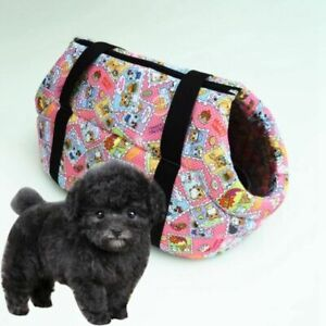 Trendy Pet Carry Bag Stylish Double Hole Puppy Kitten Outdoor Carrier 4 Colors