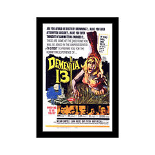 DEMENTIA 13 - 11x17 Framed Movie Poster by Wallspace
