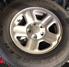 Goodyear Wrangler ST 225/75R16 OEM Jeep Rims & Tires - 5 piece set
