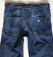 Mens Diesel PHEYO Cargo Relaxed Fit Blue Faded Jeans W32 L26 (398)