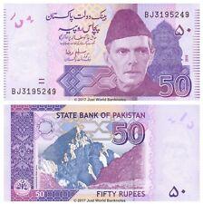 Pakistan 50 Rupees 2010 P-47d Banknotes UNC