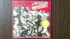"LALO SCHIFRIN ""MISSION: IMPOSSIBLE"" LP 1987 MCA RE"