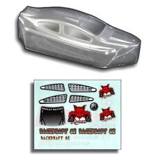Redcat Racing Backdraft 8E Clear Body Shell BS803-003C FREE US SHIPPING